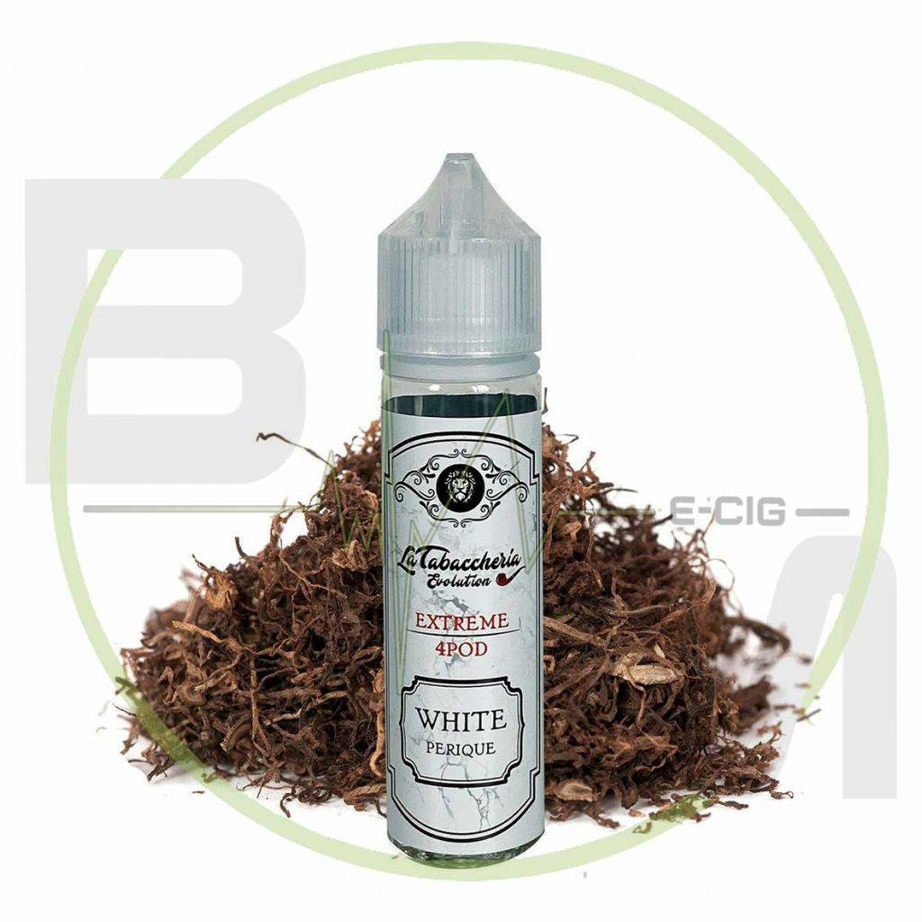 White Perique - Extreme 4Pod - La Tabaccheria - Shot