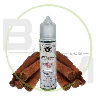 White Sigaro Italiano - Extreme 4Pod - La Tabaccheria - Shot